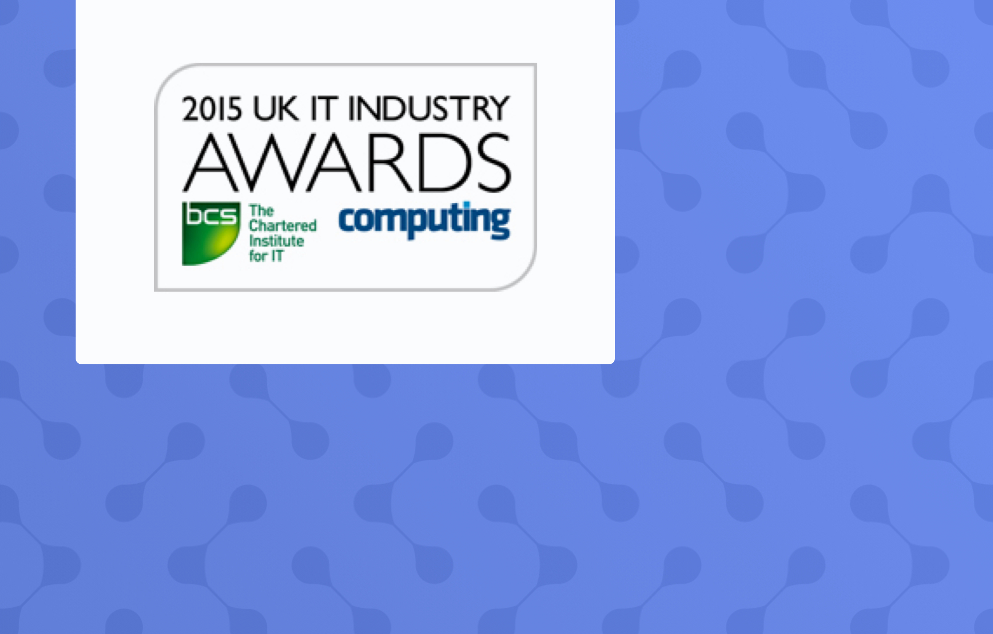 Olive Communications wins another gong at the UK IT Industry Awards